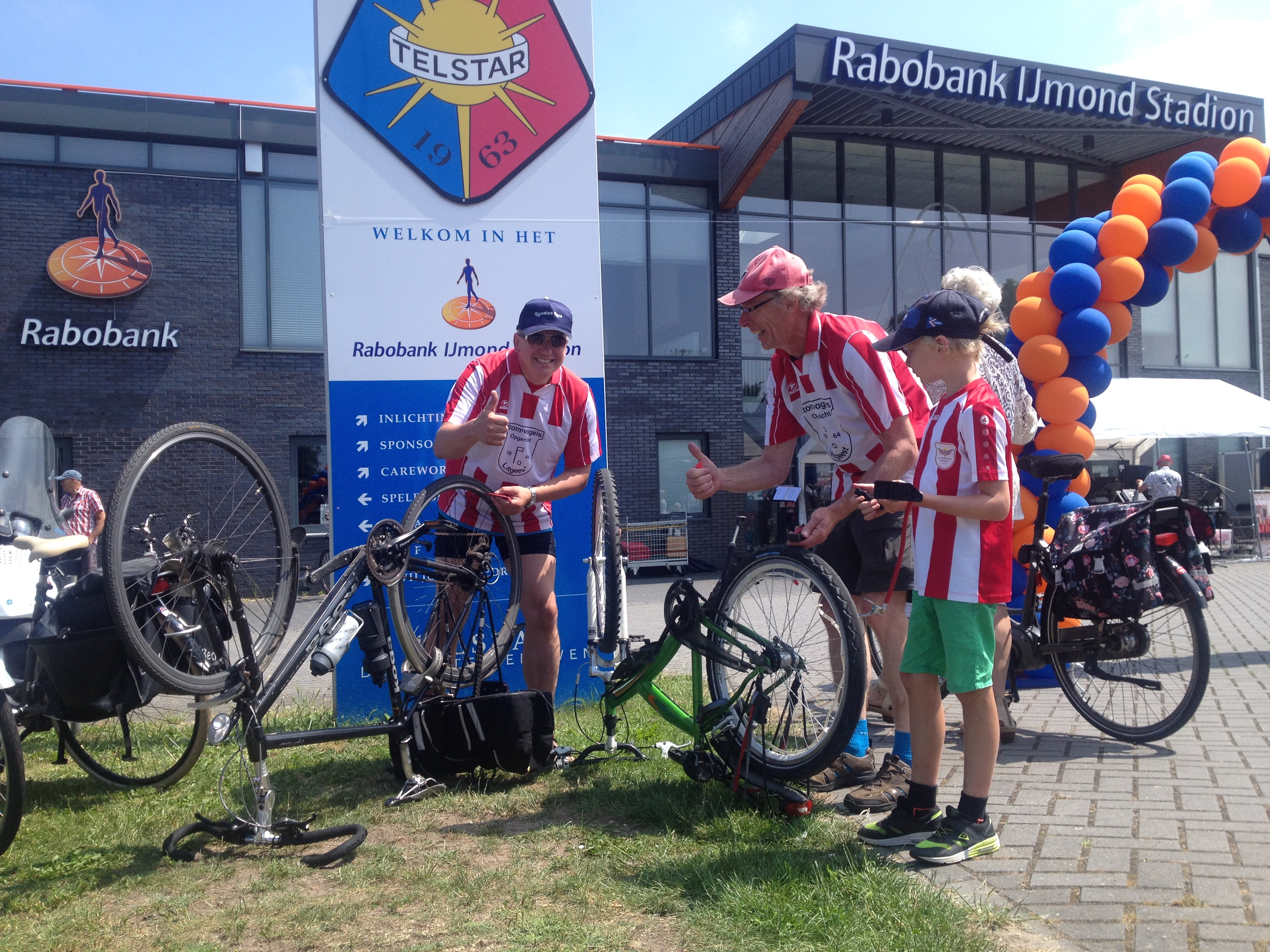 Opbrengst Rabobank fietsdag